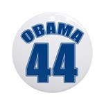 OBAMA 44 44th President Ornament (Round)