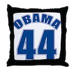 OBAMA 44 44th President Throw Pillow
