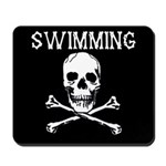 Swimming Pirate Mousepad