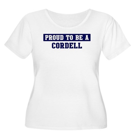 Proud to be Cordell Women's Plus Size Scoop Neck T