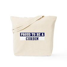 Proud to be Corbin Tote Bag