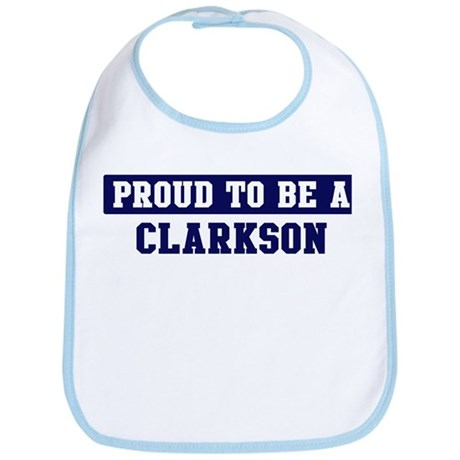 Proud to be Clarkson Bib