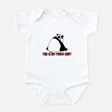 this is my panda shirt Infant Bodysuit