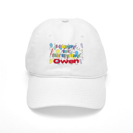 Owen's 1st Birthday Cap