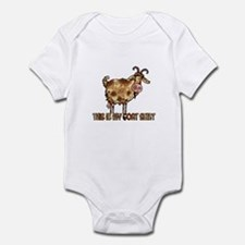 this is my goat shirt Infant Bodysuit