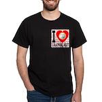 I Love Graphic Art Dark T-Shirt