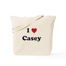 I love Casey Tote Bag