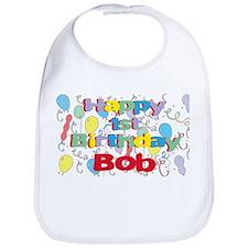 Bob's 1st Birthday Bib