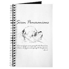 Siren Poms - Custom Journal