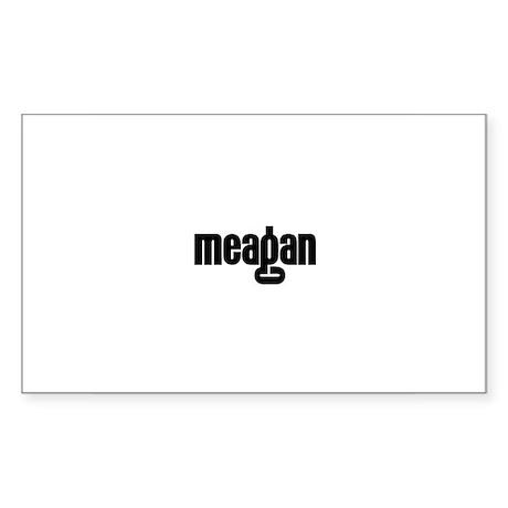 Meagan Rectangle Sticker