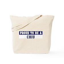 Proud to be Chiu Tote Bag