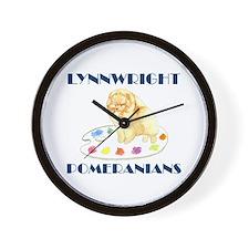 Lynnwright Poms - Custom Wall Clock