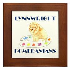 Lynnwright Poms - Custom Framed Tile