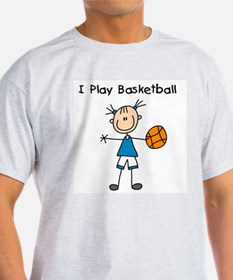 Girl I Play Basketball T-Shirt