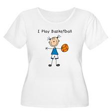 Girl I Play Basketball T-Shirt