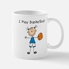Girl I Play Basketball Mug