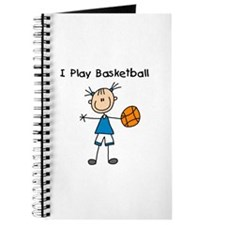 Girl I Play Basketball Journal