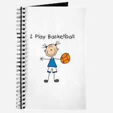 Girl I Play Basketball Journal