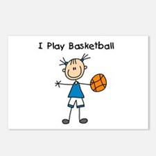 Girl I Play Basketball Postcards (Package of 8)