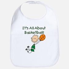All About Basketball Bib