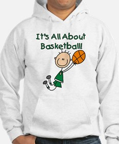 All About Basketball Hoodie