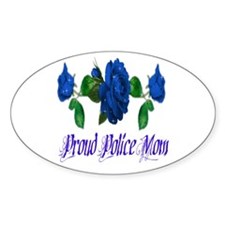 For Mom Oval Stickers