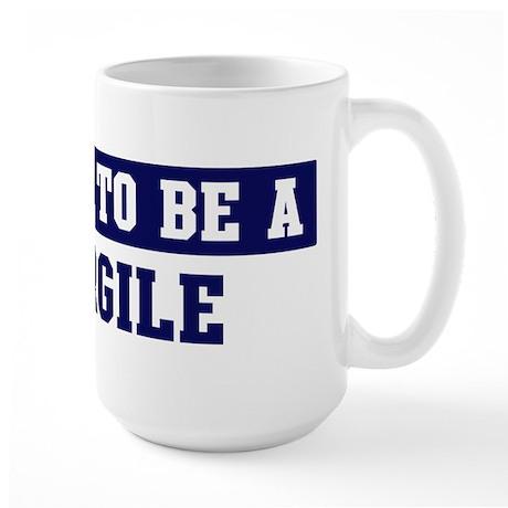 Proud to be Cargile Large Mug