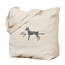 Toy Fox Terrier Tote Bag