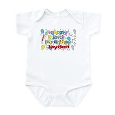 Jayden's 2nd Birthday Infant Bodysuit