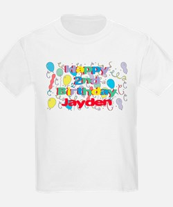 Jayden's 2nd Birthday T-Shirt