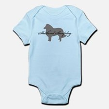 Shetland Sheepdog Infant Bodysuit