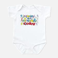 Colby's 1st Birthday Infant Bodysuit