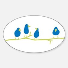 BLUEBIRDS ON A TWIG Decal