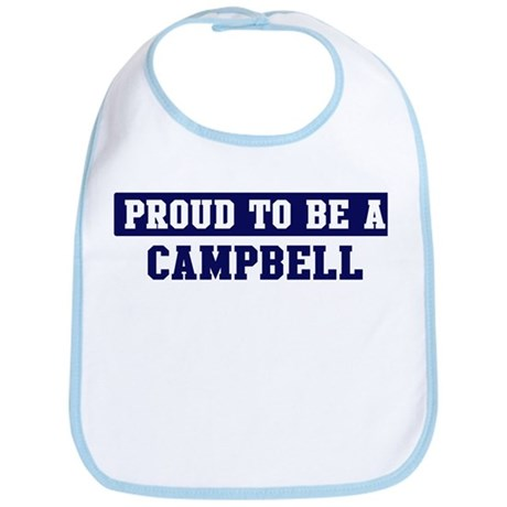 Proud to be Campbell Bib