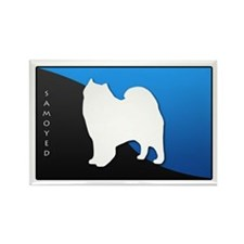 Samoyed Rectangle Magnet