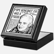The Pope Has A Posse Keepsake Box
