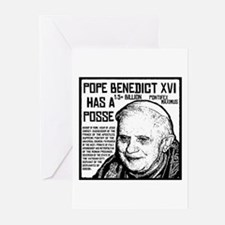 The Pope Has A Posse Greeting Cards (Pk of 10)