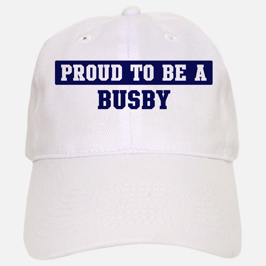 Proud to be Busby Cap