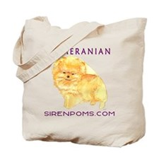 Siren Poms Custom Tote Bag Example