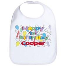 Cooper's 1st Birthday Bib