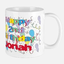 Jonah's 2nd Birthday Mug