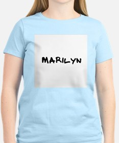 Marilyn Women's Pink T-Shirt