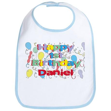 Daniel's 1st Birthday Bib