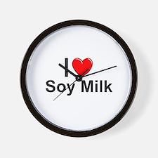Soy Milk Wall Clock