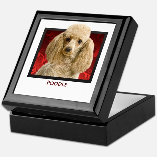 Poodle Keepsake Box