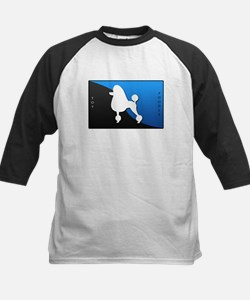 Toy Poodle Kids Baseball Jersey