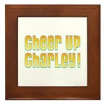 Willy Wonka's Cheer Up Charley Framed Tile