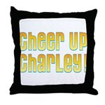 Willy Wonka's Cheer Up Charley Throw Pillow