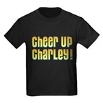 Willy Wonka's Cheer Up Charley Kids Dark T-Shirt