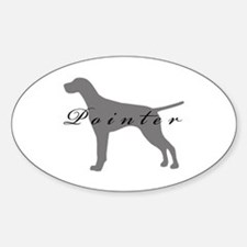 Pointer Oval Decal